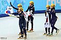 KOCIS Korea ShortTrack Ladies 3000m Gold Sochi 22 (12629370055).jpg