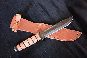Camillus Cutlery Company - USMC KA-BAR Fighting Utility Knife