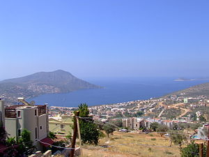 The bay of Kalkan, Turkey