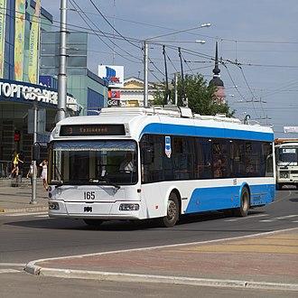 Kaluga - Image: Kaluga 2013 trolleybus 34