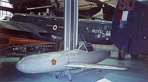 Museum of Science and Industry (Manchester) - A kamikaze Ohka aircraft in exhibition