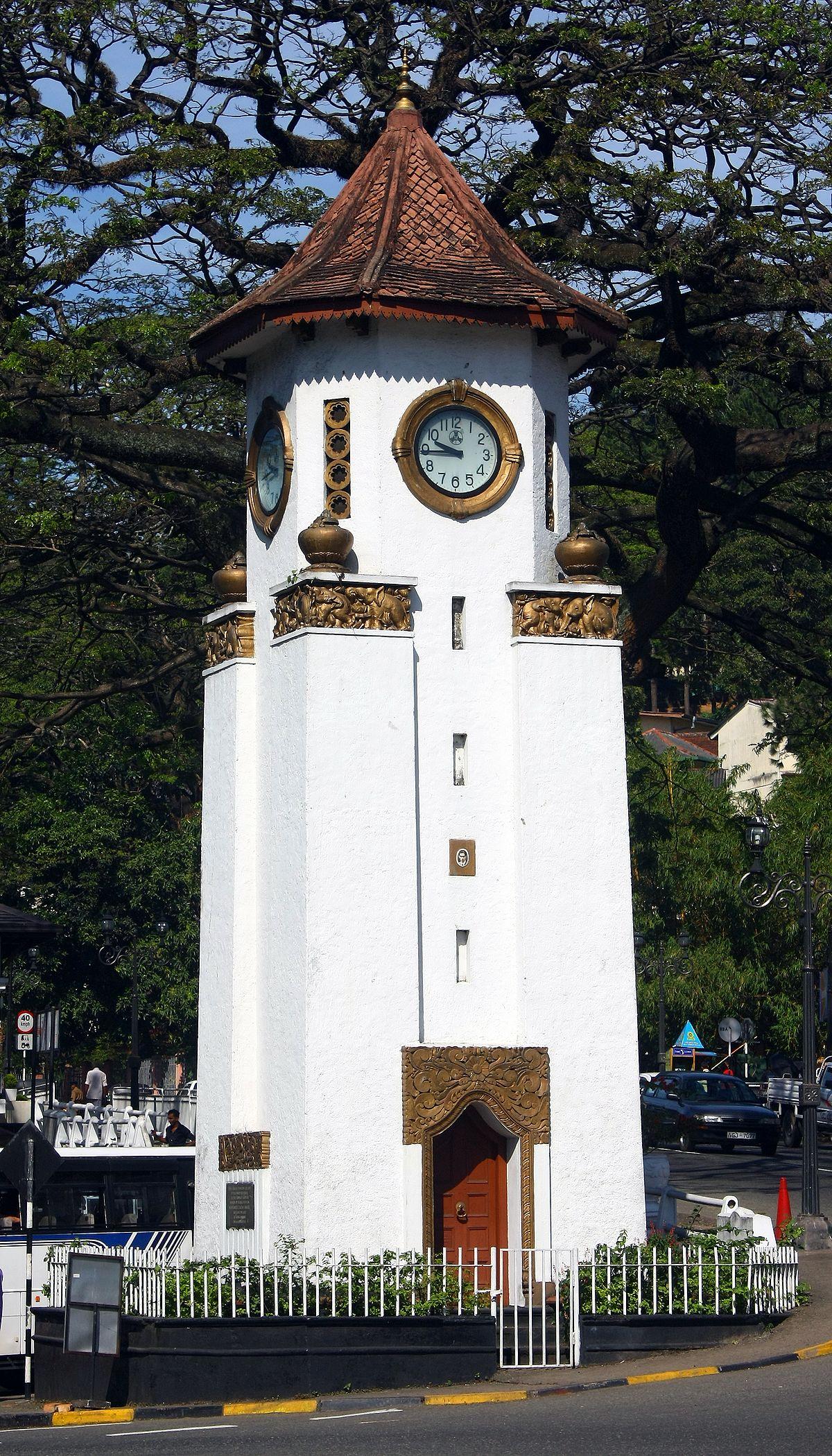 Px Kandy Clock Tower C