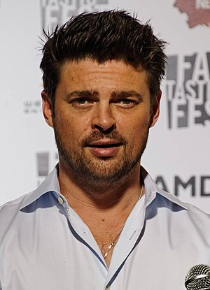 Dredd - Karl Urban promoting the film at the 2012 Fantastic Fest. Critics praised his performance.
