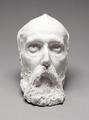 Karl XVs dödsmask i gips, 1872 - Livrustkammaren - 100425.tif