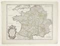 Karta över Frankrike från 1678 - Skoklosters slott - 97958.tif