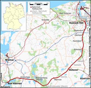 Bad Kleinen–Rostock railway