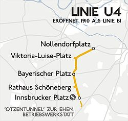 Karte berlin u u4
