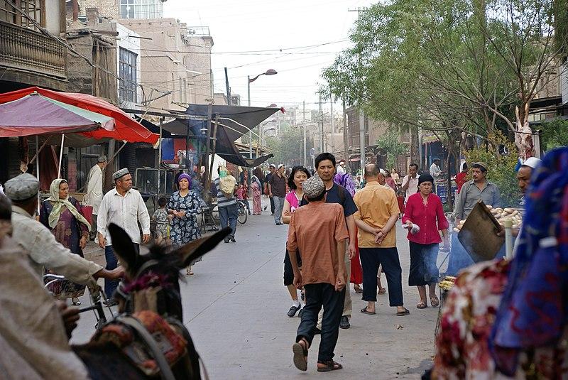 File:Kashgar Street.jpg
