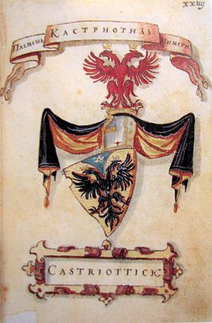 House of Kastrioti - Image: Kastriotic Co A Korenić Neorić Armorial
