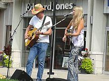 Kate Todd performing in Port Credit August 2013.jpg