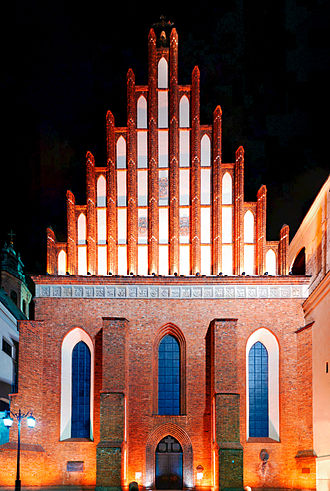St. John's Archcathedral, Warsaw - Image: Katedra p.w. św. Jana
