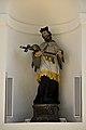 Kath Pfarrkirche Kreuzauffindung in Klam - Nischenfigur hl Nepomuk.jpg