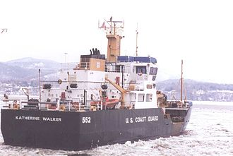 Keeper-class cutter - USCG Coastal Buoy Tender Katherine Walker WLM-552