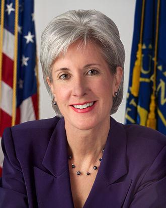 2007 United States gubernatorial elections - Image: Kathleen Sebelius alternate HHS portrait