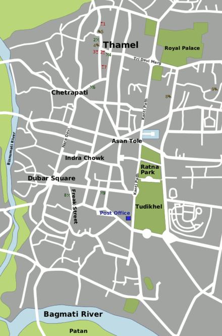 Kathmandu Map Pdf