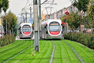 Transport in Turkey - Trams in Kayseri