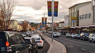 Cowra Town in New South Wales, Australia