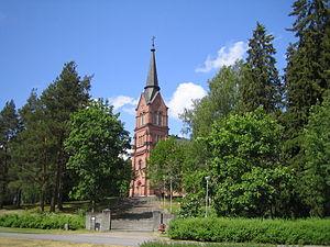 Keuruu - Image: Keuruu New Church 1