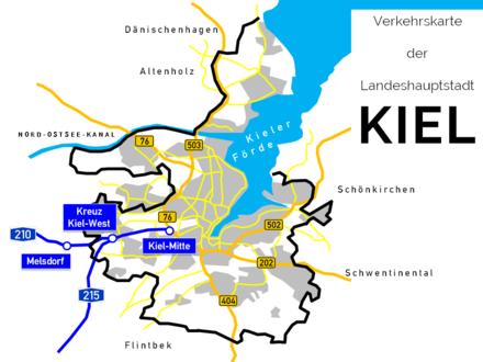 Kieler Bucht Karte.Kiel Wikiwand