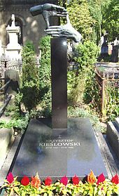 Photo of Kieślowski's grave
