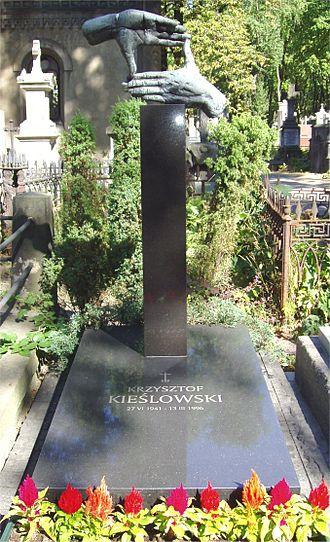 Krzysztof Kieślowski - Kieślowski's grave
