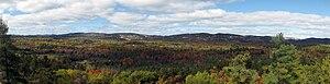 Killarney Provincial Park - Panoramic view from the Granite Ridge Trail