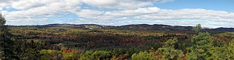 Killarney Provincial Park - Panoramic view from the Granite Ridge Trail