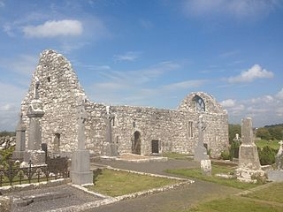Killursa Church in County Galway, Ireland