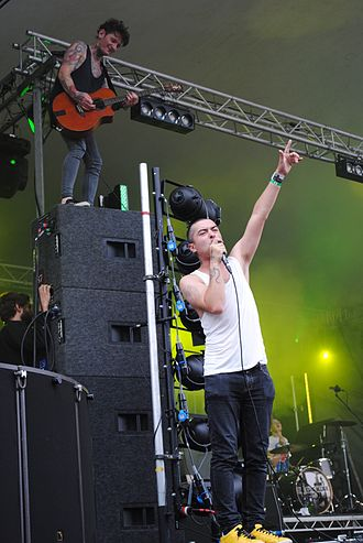 The King Blues - Image: King Blues at Kendal Calling 2010