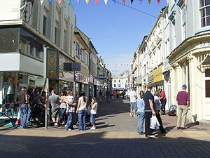 Whitehaven - Image: King Street geograph.org.uk 470948