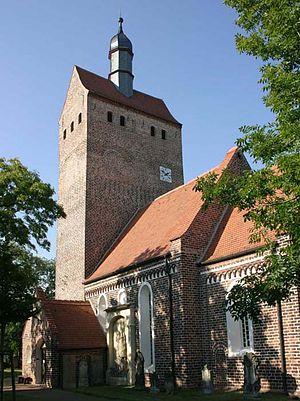 Axien - Image: Kirche Axien 1