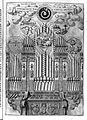 "Kircher, ""Musurgia universalis""; musical organ with diagram Wellcome L0025813.jpg"