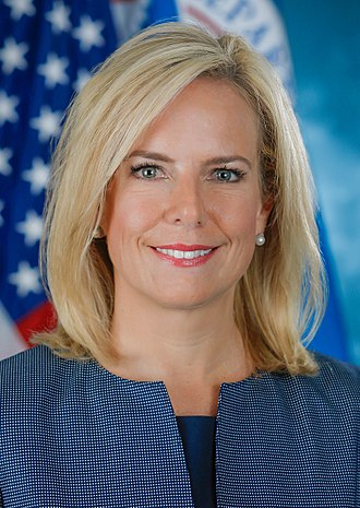 United States Secretary of Homeland Security - Image: Kirstjen Nielsen official photo (cropped)