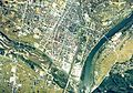Kitakami city center area Aerial photograph.1976.jpg