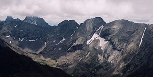 Thirteener - The Crestone Group including   Columbia Point, Colorado