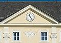Klagenfurt Annabichl Ehrentaler Strasse 119 Schloss Ehrenthal Ziergiebel mit Uhr 25012016 2643.jpg