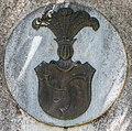 Klagenfurt Seltenheim Friedhof Wappenrelief von Mlocki-Dziokowski 26052016 3239.jpg