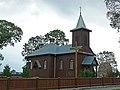 Kościół p.w. Świętej Trójcy (XIXw.) - Połoski gmina Piszczac powiat bialski woj. lubelskie ArPiCh A-214.JPG