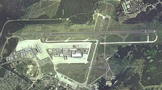 Cologne Bonn Airport - Aerial overview