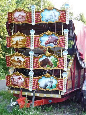 Berousek family - Cirkus Berousek horse stall in Havlíčkův Brod