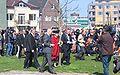 Koningin Beatrix bij de opening van Roombeek - foto door Arie.jpg