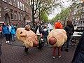 Koningsdag in Amsterdam, Lauriergracht foto 2.JPG