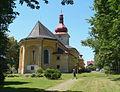 Kostel sv. Vavřince (Seč), nám., Seč 03.jpg