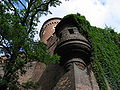 Krakow-Wawel-Senatorska tower-Lower view.jpg