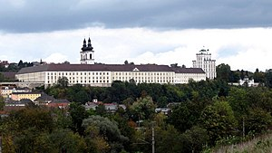 Kremsmuenster Abbey South.jpg