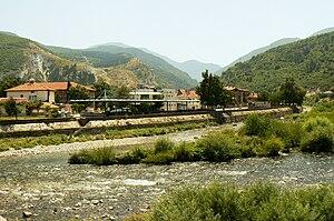 Krichim - The Vacha River passing through Krichim