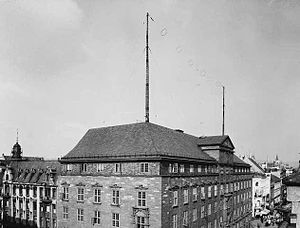 Norkring - Kringkastingsselskapet's offices and first transmitter