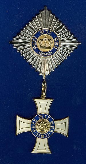 Order of the Crown (Prussia) - Cross and star of the Order of the Crown, 2nd Class