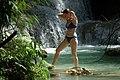 Kuang Si Waterfalls Luang Prabang-Laos ラオス・ルアンパバーン・クアンシーの滝 DSCF6494.jpg