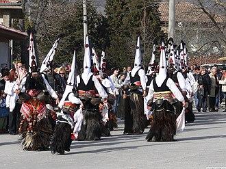Kukeri - Kukeri from the region of Karlovo